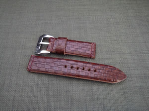 DaLuca_Panerai_Watch_Straps_Brown_Knots.jpg