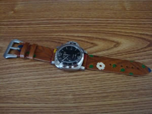DaLuca_Panerai_Watch_Straps_Custom_Flower_Power.jpg