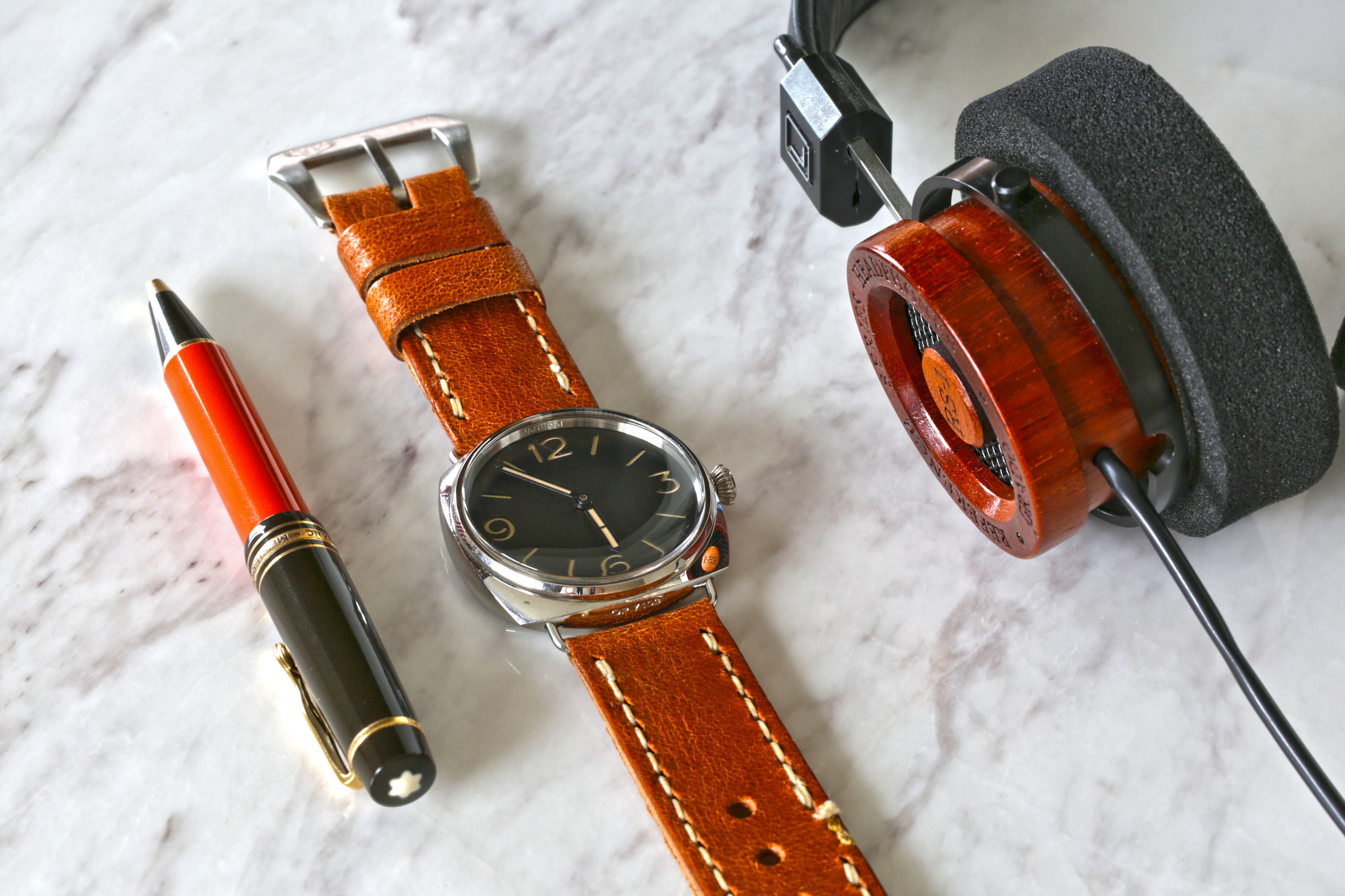 BLACK CHROMEXCEL HORWEEN LEATHER STRAPS SELECT YOURS. VARIOUS SIZES AVAILABLE